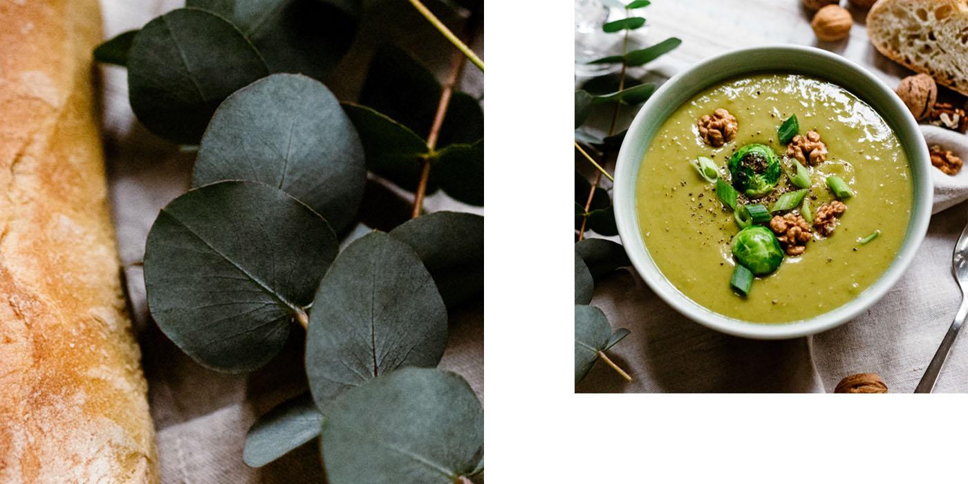 Suppenrezepte, Karottensuppe, Erbsensuppe, Broteinlage, Brot online bestellen, Morgengold